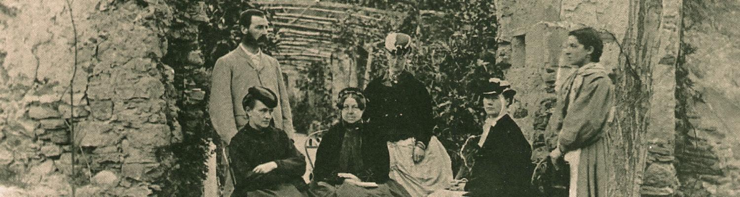 Thomas Hanbury and his family at GBH - 1869